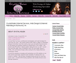 crystal nolen internet services joomla site
