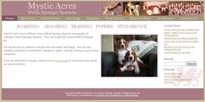 Mystic Acres Welsh Springer Spaniels